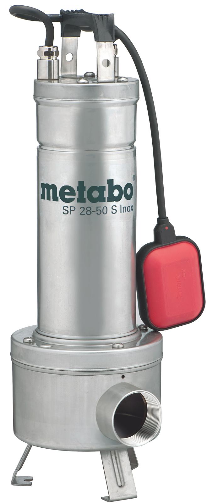 Дренажный насос Metabo Sp 28-50 s inox (604114000) насос погружной metabo sp 28 50 s inox