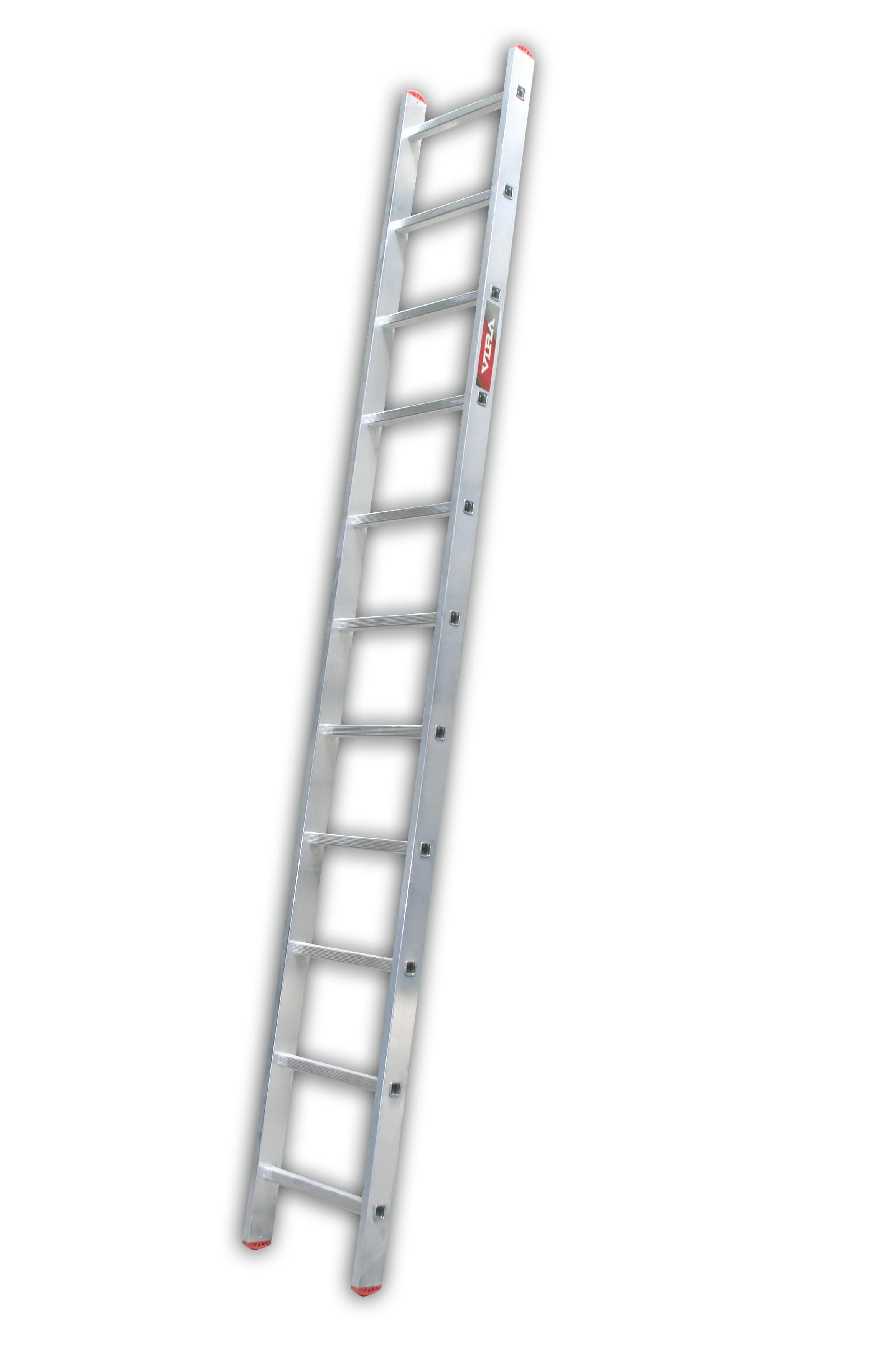 Лестница алюминиевая приставная Vira Rus 1х11 от 220 Вольт