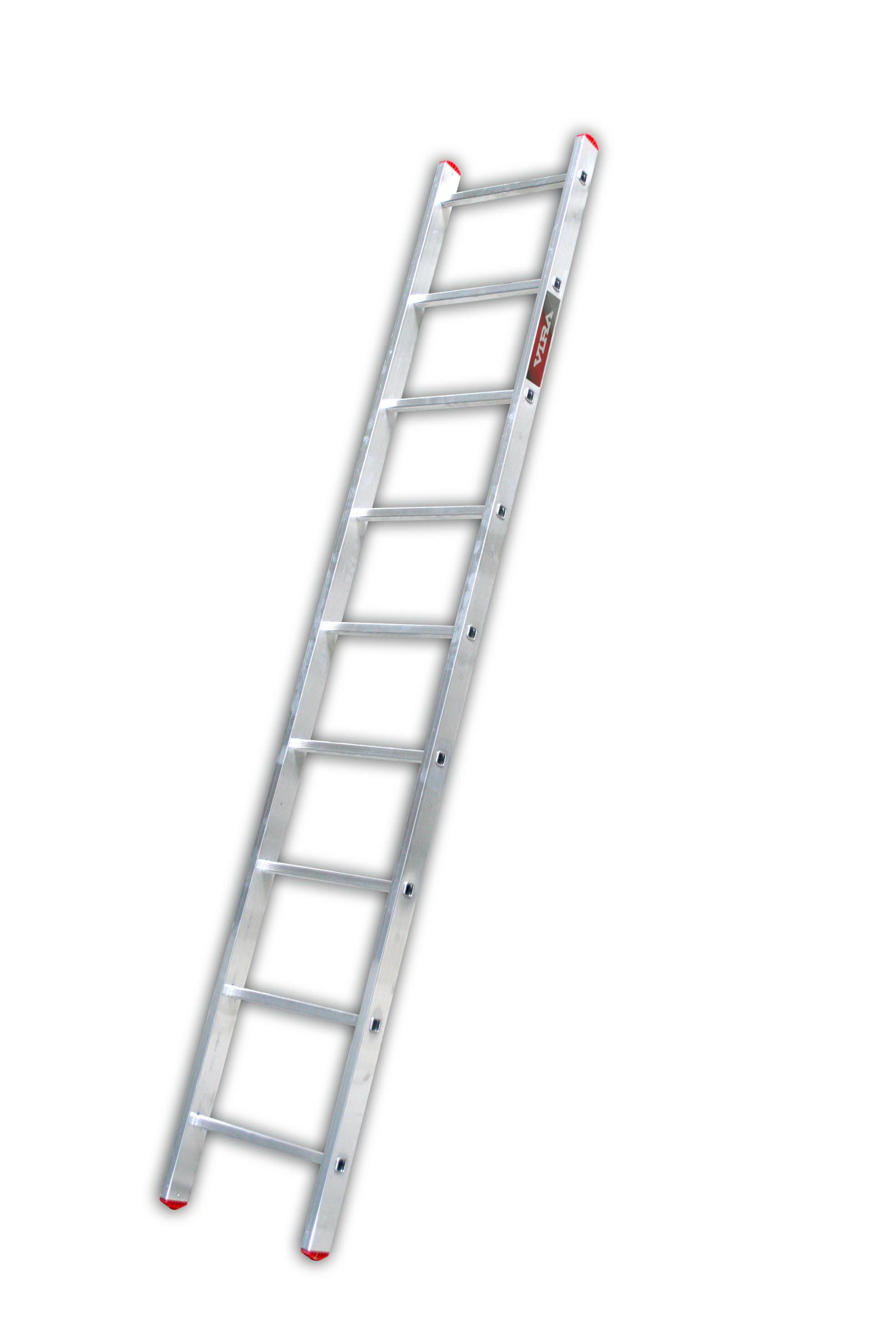 Лестница алюминиевая приставная Vira Rus 1х9 от 220 Вольт
