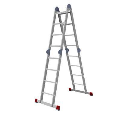 Лестница-трансформер НОВАЯ ВЫСОТА 4х4 604404