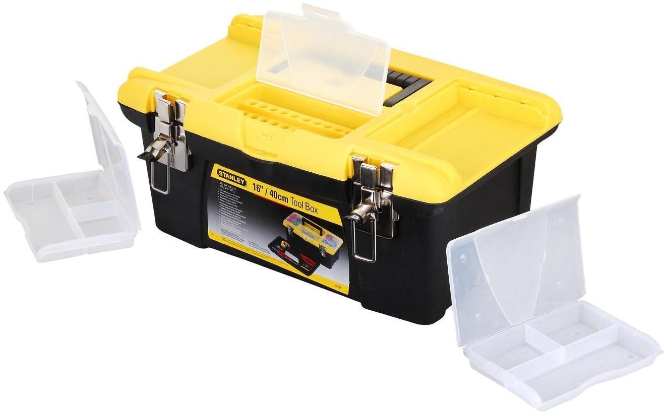 Ящик Stanley Jumbo 16 ящик для инструменов stanley серия jumbo 19 с метал замками