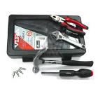 Набор инструментов в пластиковом кейсе, 15 предметов VIRA 305017