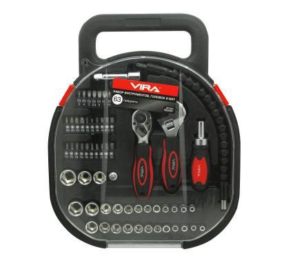 Набор инструментов для дома, 62 предмета VIRA 305007