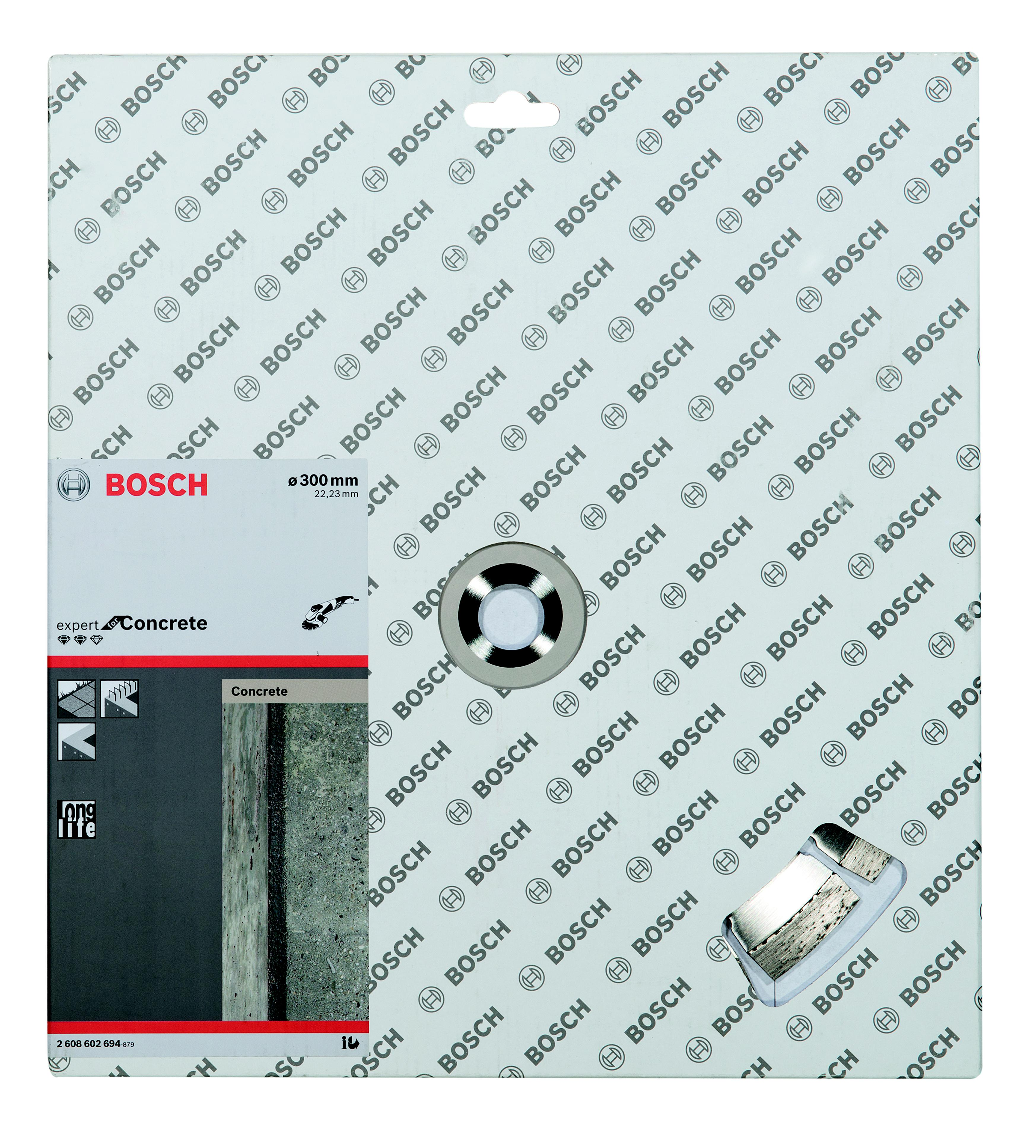 Круг алмазный Bosch Expert for concrete 300x22 сегмент (2.608.602.694) concrete countertops