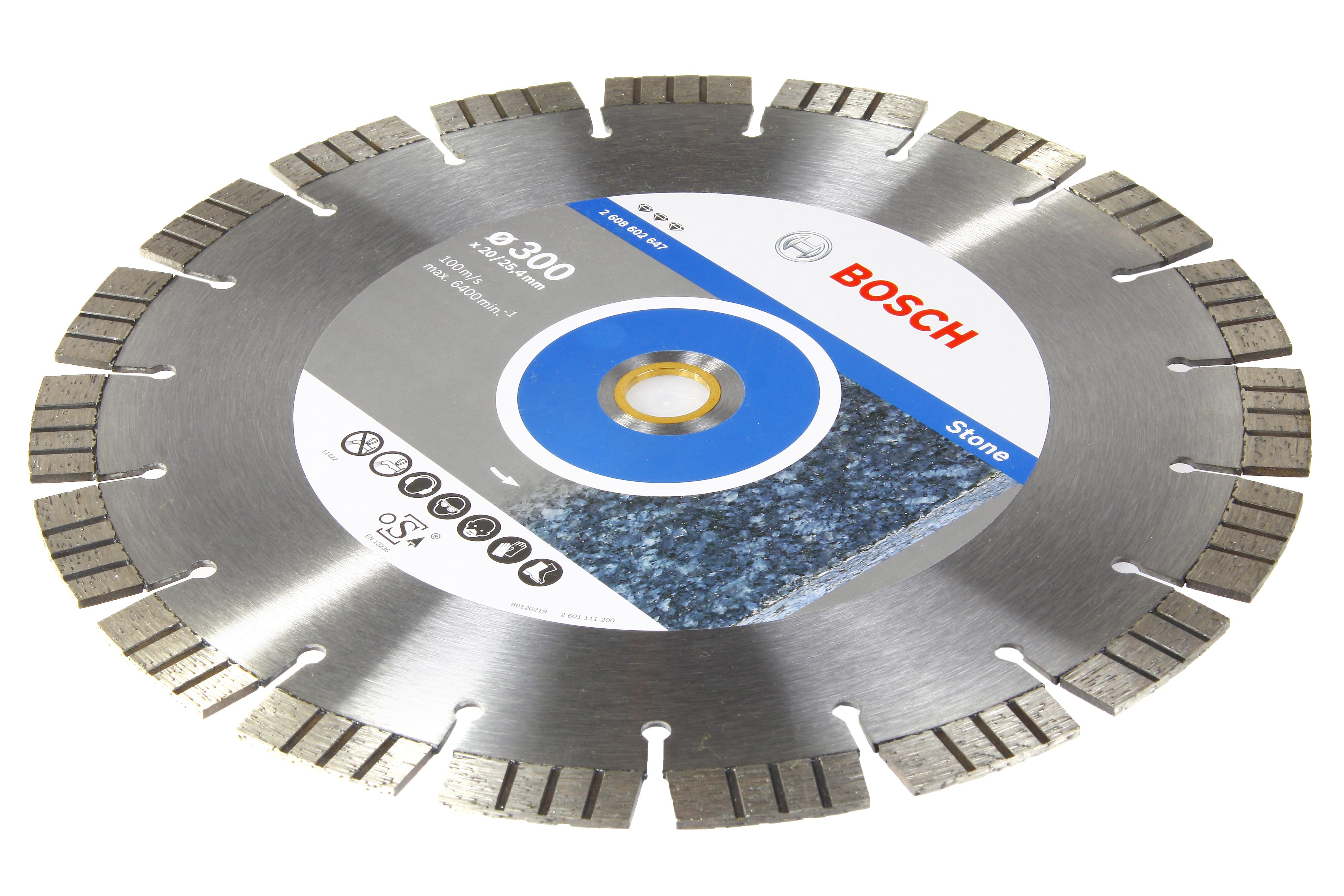 Круг алмазный Bosch Best for stone 450x25.4 сегмент (2.608.602.650) круг алмазный тсс 450 premium