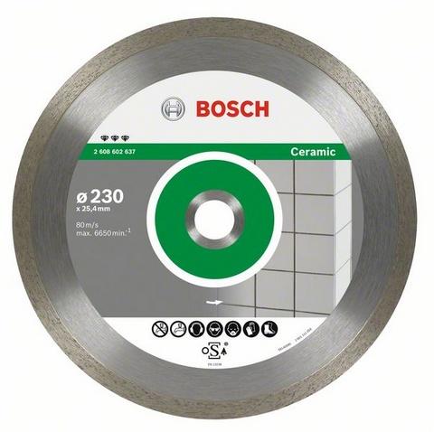 Круг алмазный Bosch Best for ceramic 350x25.4/30 корона (сплошной)(2.608.602.640) автомобильную тв антенну корона