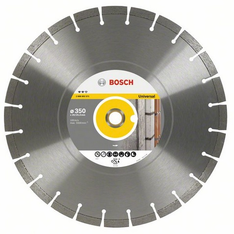 Круг алмазный Bosch Expert for universal 400x20/25.4 сегмент (2.608.602.572) 1000pcs universal viton oring seals gb3 100 asnu08c for universal bosch fuel injection injector ay o2012