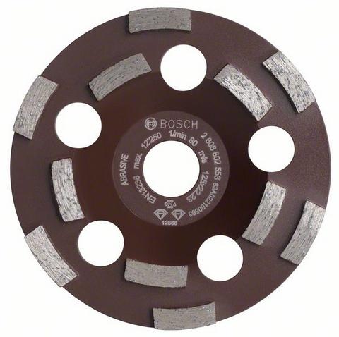 Абразивная шлифовальная чашка Bosch Ф125х22мм (expert for abrasive 2608602553)