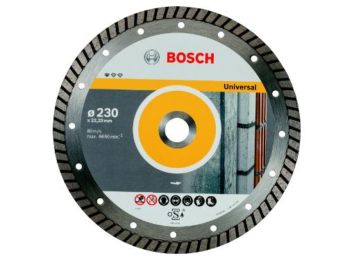 Круг алмазный BOSCH Standard for Universal Turbo (2608602397) Ф230х22мм универсальный