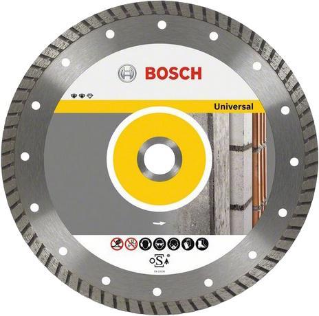 Круг алмазный Bosch Expert for universal turbo 300x22 турбо (2.608.602.695) диск отрезной алмазный gross турбо с лазерной перфорацией