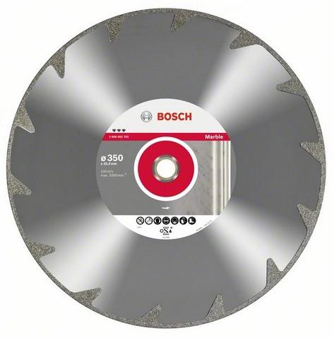 Круг алмазный Bosch Best for marble 115x22 сегмент (2.608.602.689) bosch professional for marble