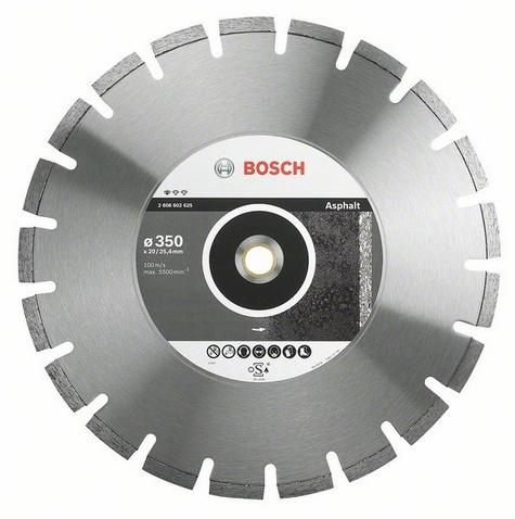 Круг алмазный Bosch Standard for asphalt 450x25.4 сегмент (2.608.602.627) круг алмазный тсс 450 premium