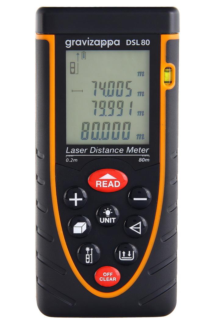 Дальномер лазерный Gravizappa Dsl 80 цены