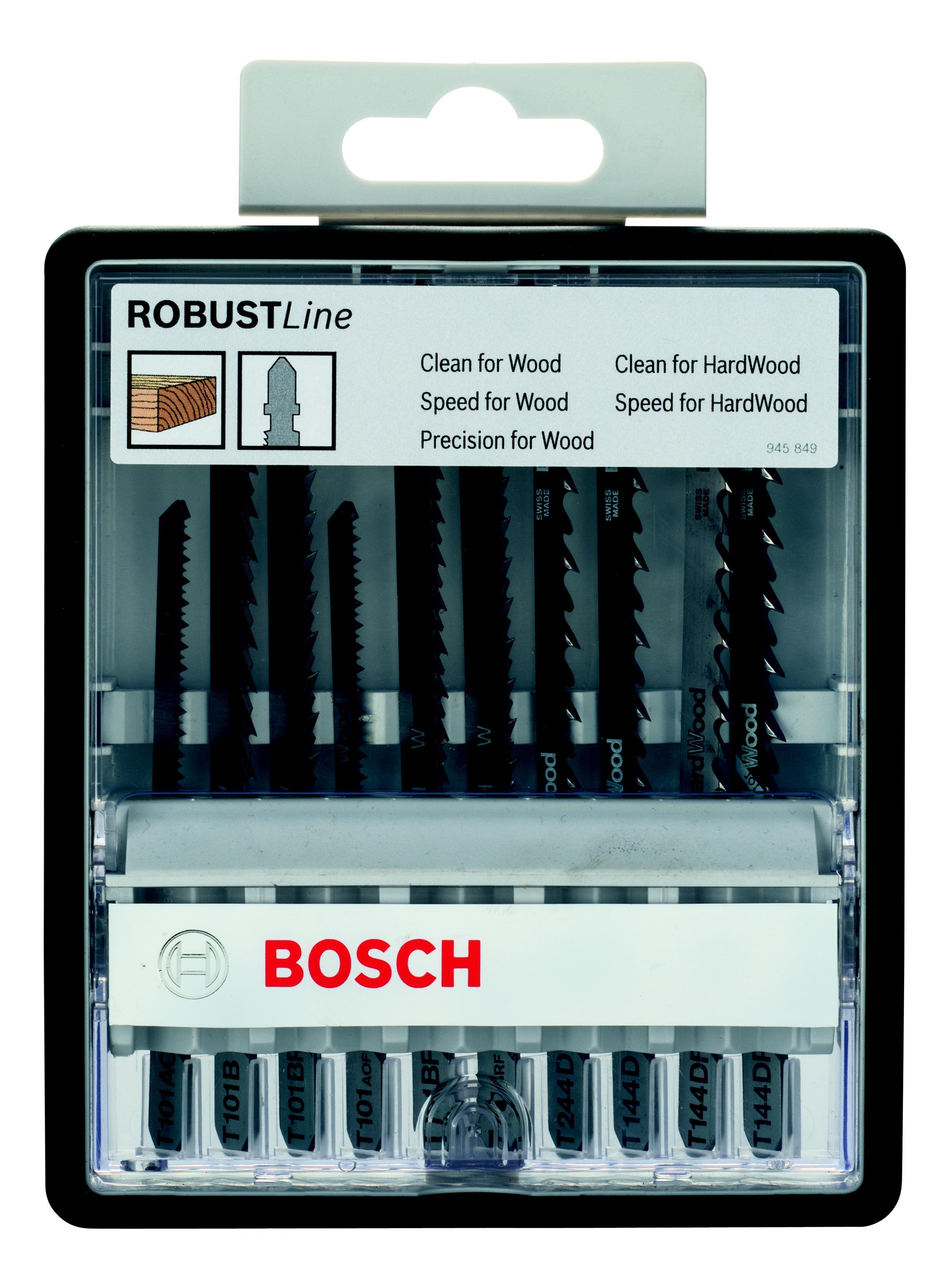 Набор пилок Bosch дерево 10шт (2.607.010.540) набор пилок bosch специальные 10шт 2 607 010 574