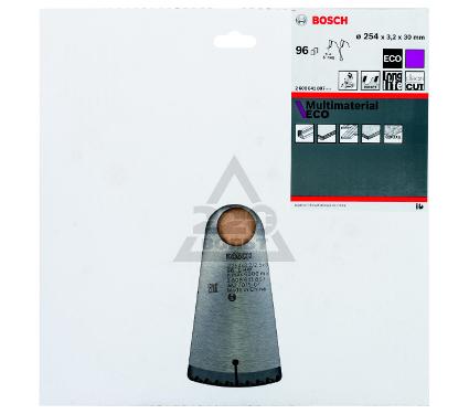 Диск пильный твердосплавный BOSCH Multi ECO 254x96x30 (2.608.641.807)