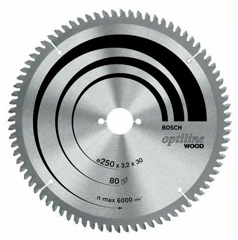 Диск пильный твердосплавный Bosch Optiline wood 305x60x30 gcm 12 (2.608.640.441)