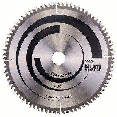 Диск пильный твердосплавный Bosch Multi material 254x80x30 gcm 10 (2.608.640.450)