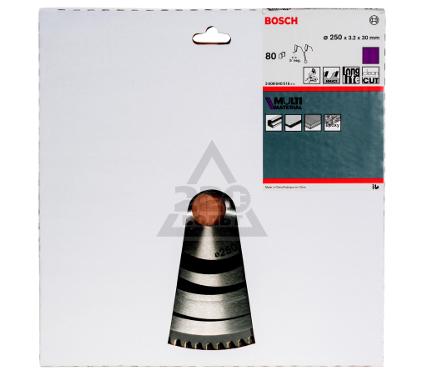 Диск пильный твердосплавный BOSCH Multi Material 250x80x30 (2.608.640.516)