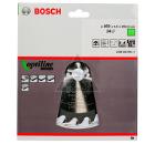 Диск пильный твердосплавный BOSCH Optiline Wood 160x24x20/16 (2.608.640.596)