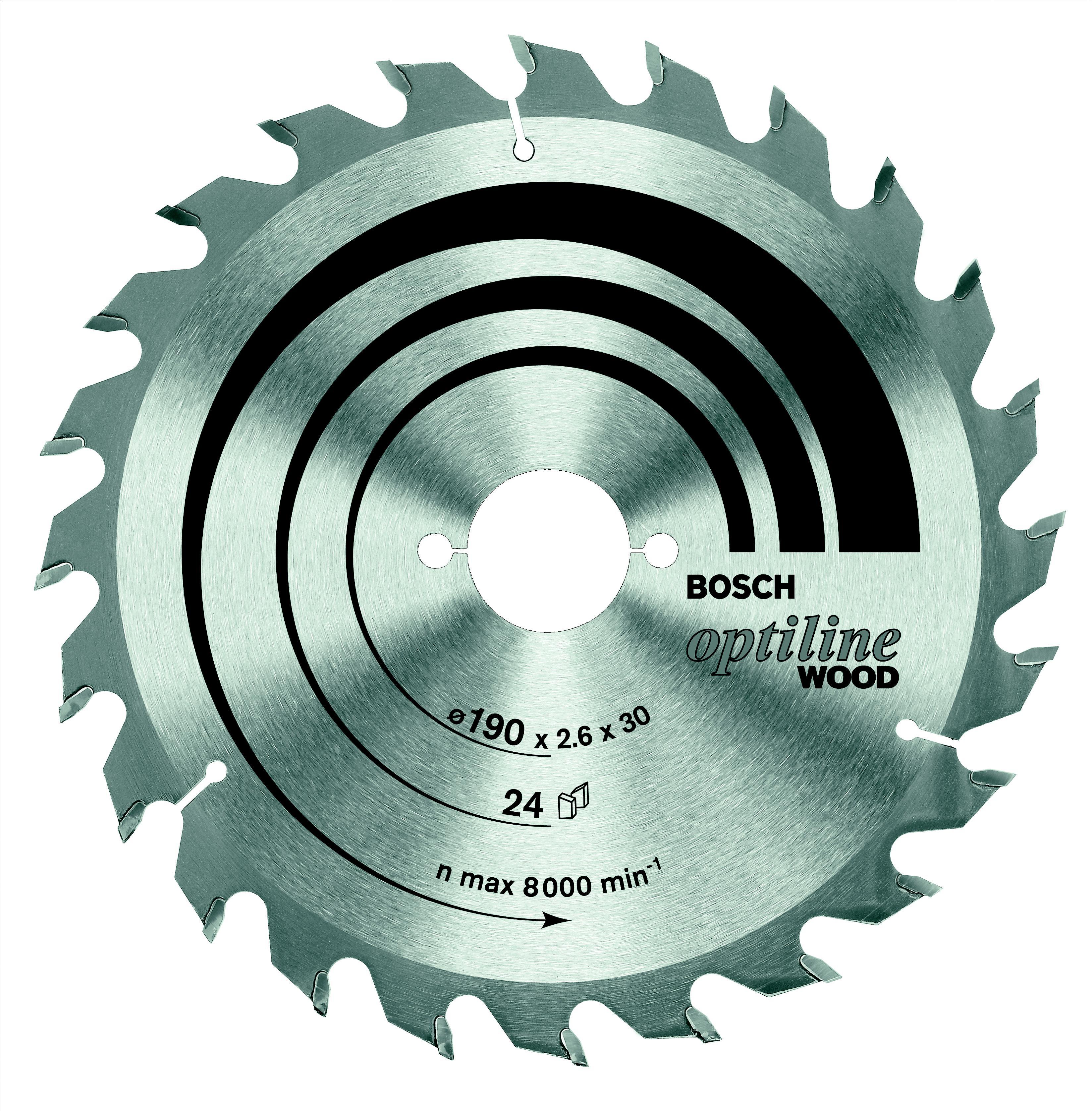 Диск пильный твердосплавный Bosch Optiline wood 160x36x20/16 (2.608.640.597)