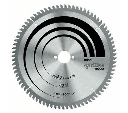 Диск пильный твердосплавный BOSCH Ф230х30мм 48зуб. (Optiline Wood 2608640629)