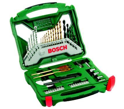 Набор бит и сверл BOSCH X-Line 50 Titanium (2607019327)