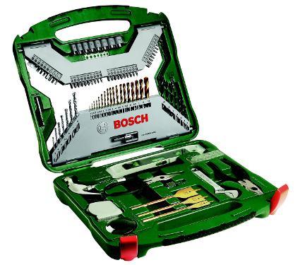 Набор инструментов BOSCH X-LINE 103 TITANIUM (2607019331)