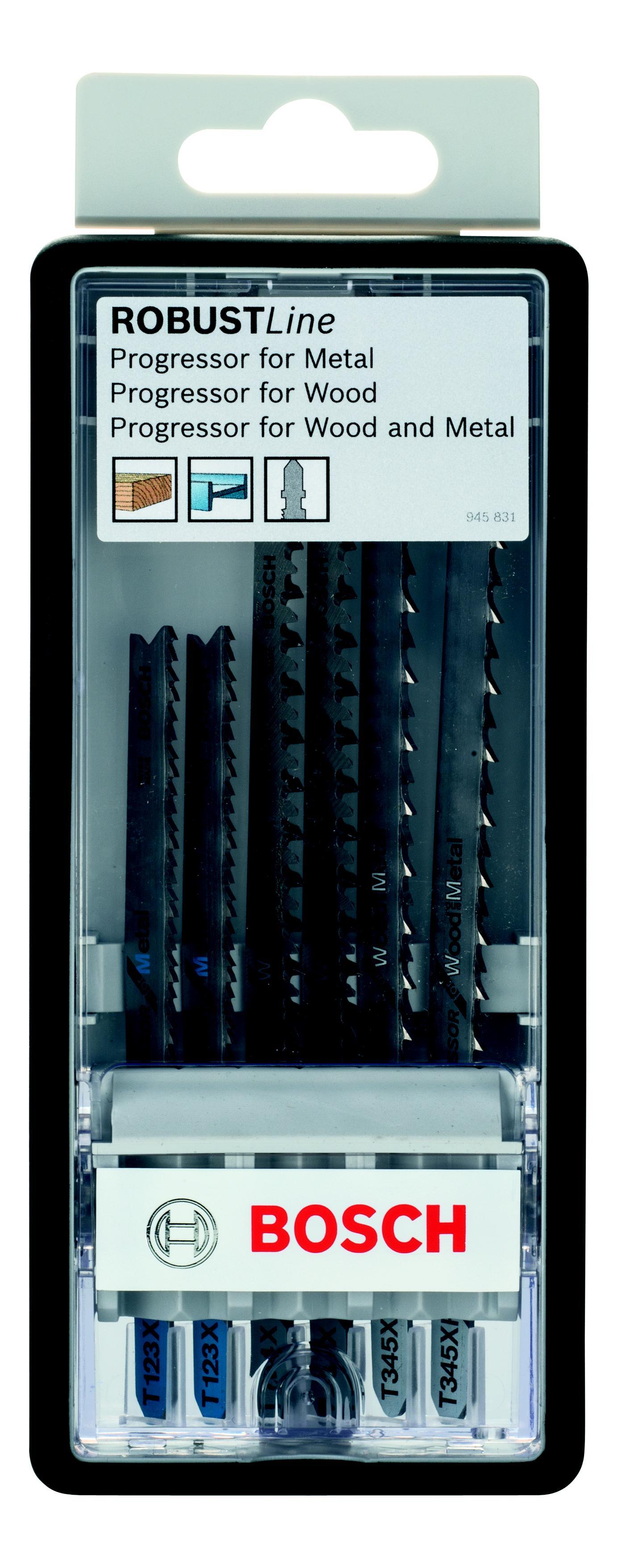 цена на Набор пилок Bosch Progressor t (2.607.010.531)