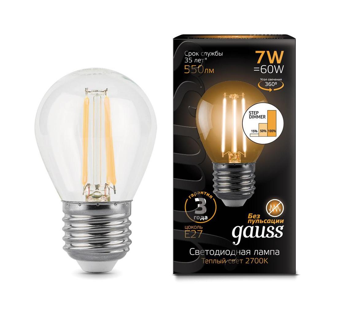 Лампа светодиодная GAUSS 105802107-S