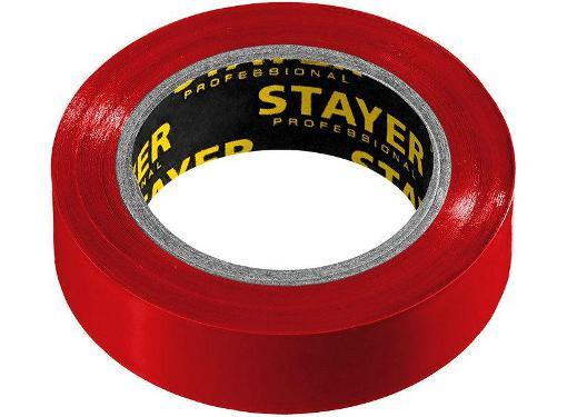 Красная изолента ПВХ STAYER 15мм х 10м (Protect-10 12291-R)