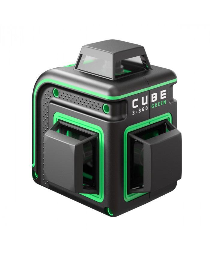 Фото - Уровень лазерный Ada Cube 3-360 green basic edition лазерный уровень ada cube 3 360 green home edition