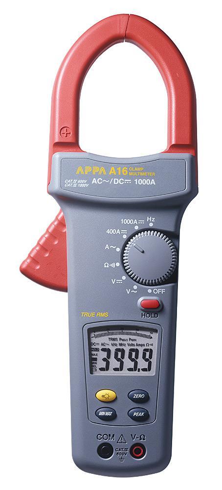 Токовые клещи Appa A16