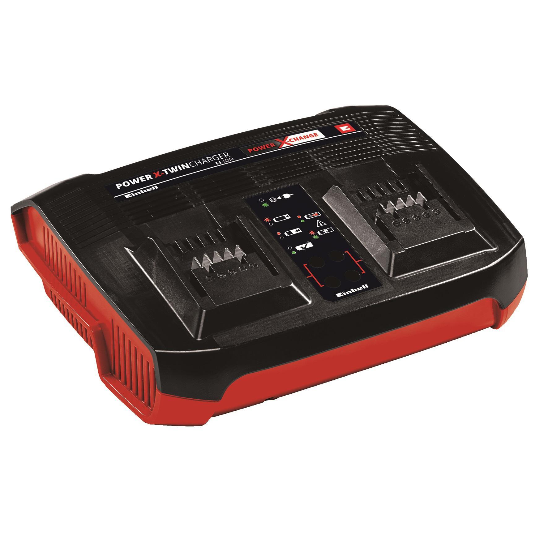 Зарядное устройство Einhell Pxc power x-twincharger (4512069)