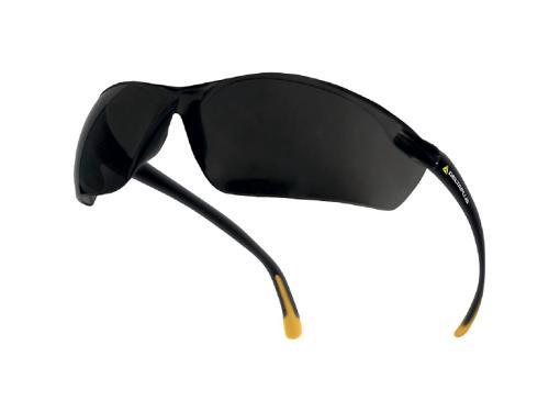 Защитные открытые очки DELTA PLUS MEIA SMOKE