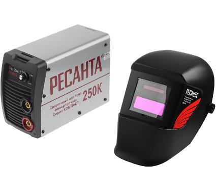 Набор РЕСАНТА сварочный аппарат САИ 250К + маска МС-4