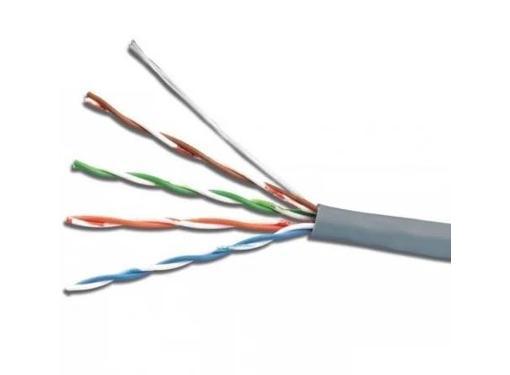 Витая пара ITK LC1-C5E04, F/UTP экранир. (24AWG) кат.5е 4х2х0.52 ож PVC, 305м