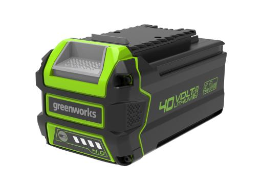Аккумулятор GREENWORKS 40В 4 Ач Li-Ion G40B4 (2927007)