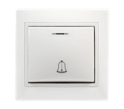 Кнопка для звонка SMARTBUY SBE-01w-10-B1-1