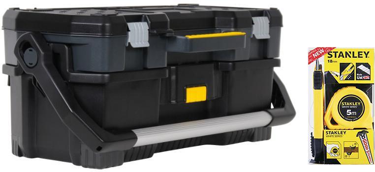 Набор Stanley Ящик 1-97-506 +Набор stht74253-8 ящик для инструментов stanley 1 97 506