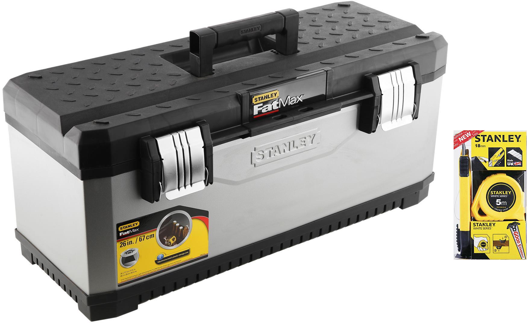 Набор Stanley Ящик fatmax 1-95-617 +Набор stht74253-8 цена