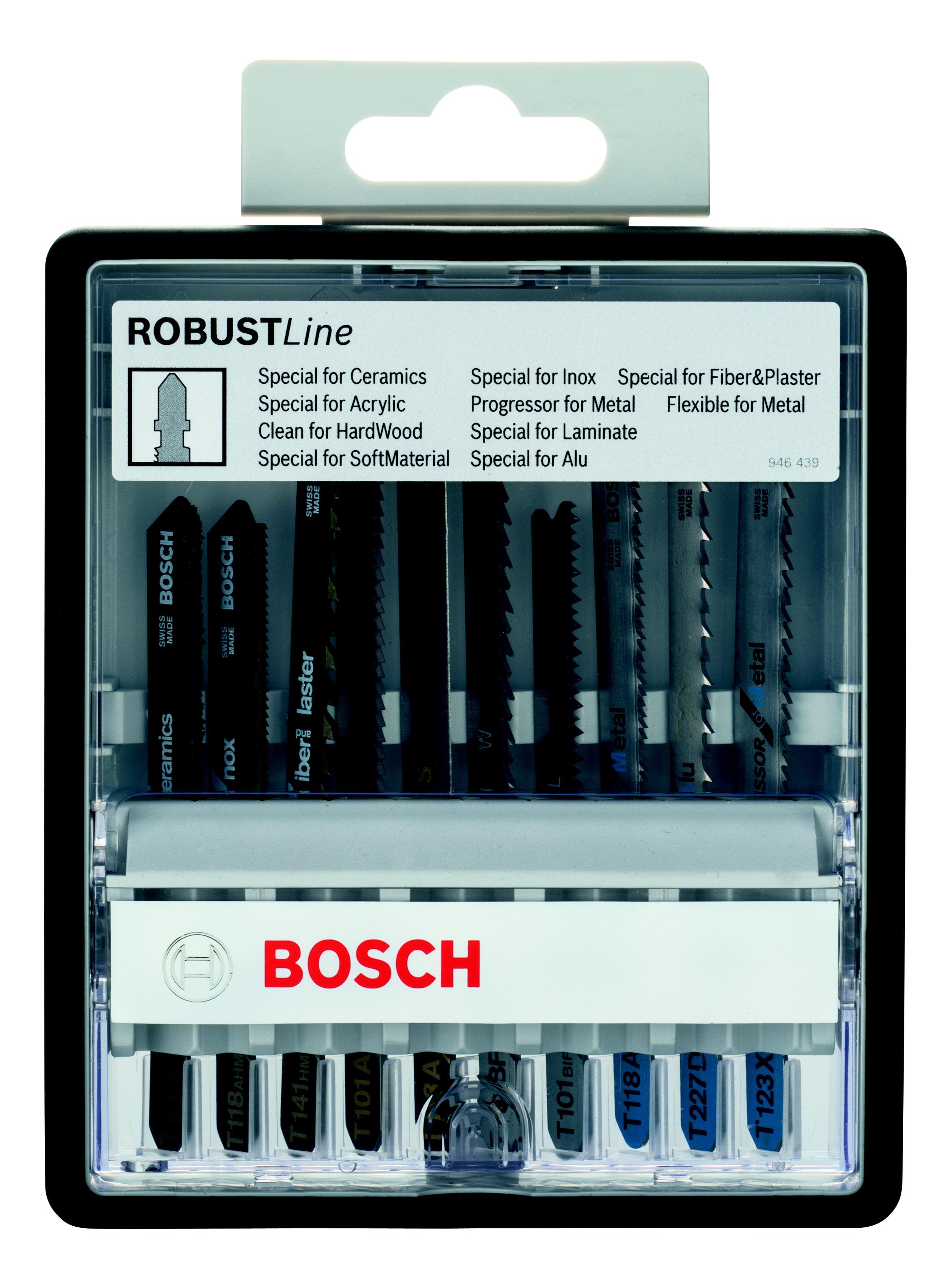 Набор пилок Bosch специальные, 10шт. (2.607.010.574)