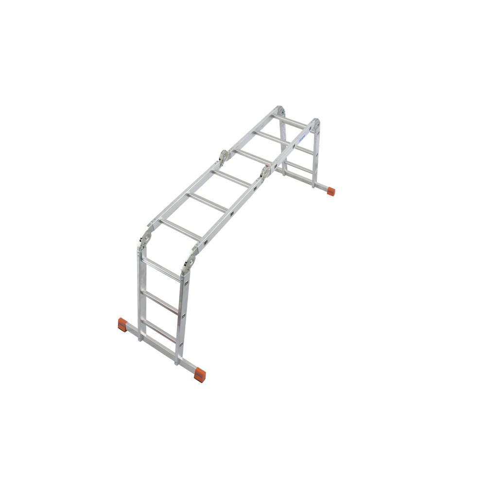 Лестница алюминиевая складная Krause Multimatic 120632 лестница алюминиевая 6 м купить