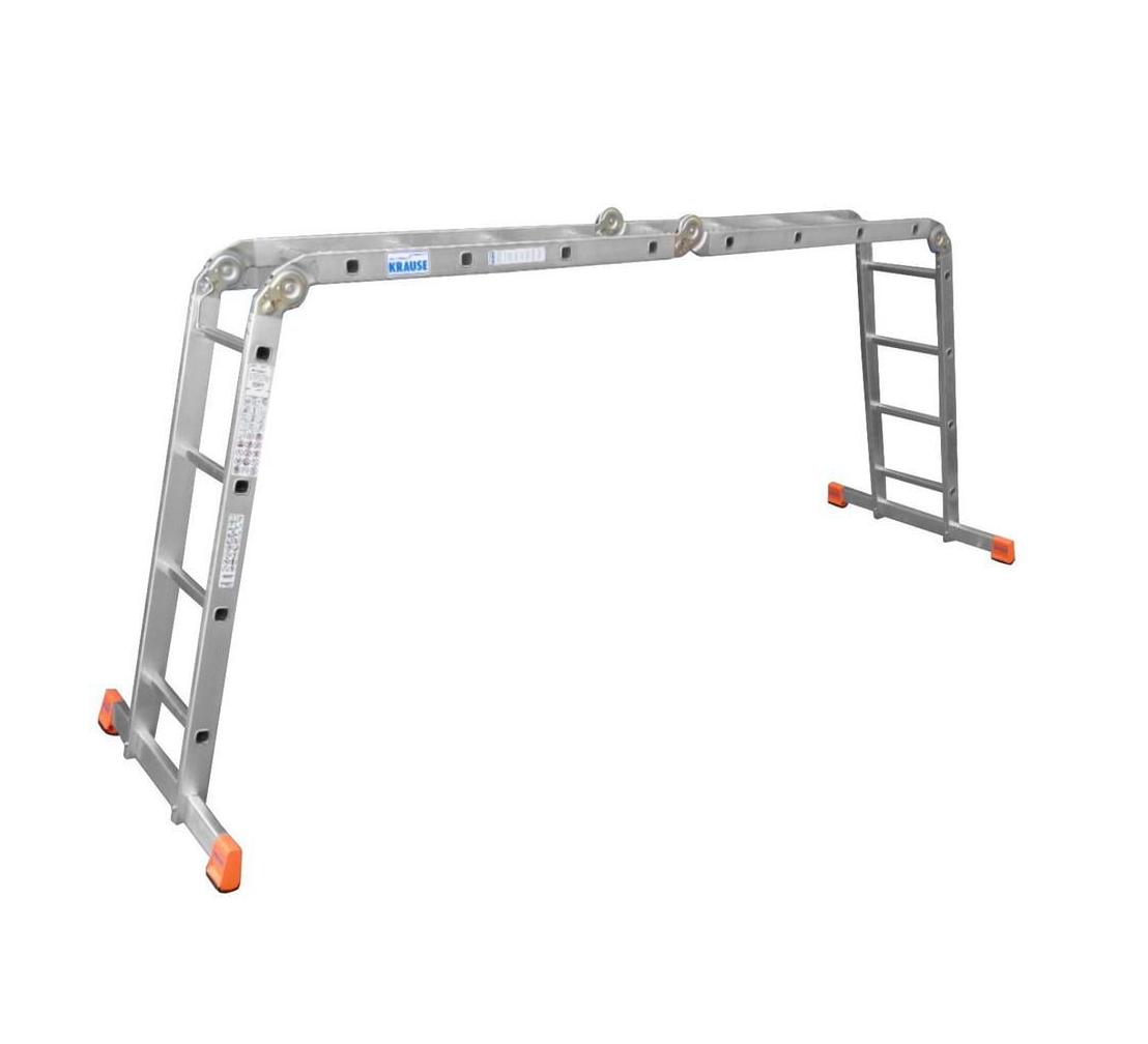 Универсальная шарнирная лестница KRAUSE MULTIMATIC 4х4