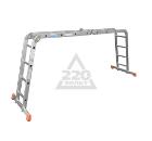 Лестница алюминиевая приставная KRAUSE MULTIMATIC 4х4