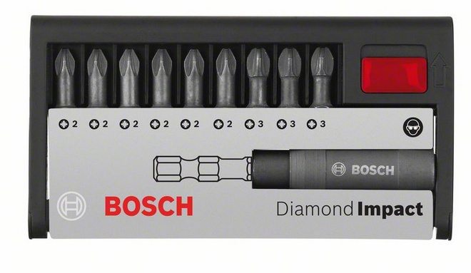 Набор бит Bosch Diamond impact pz, 10 предметов (2.608.522.065) abhaya kumar naik socio economic impact of industrialisation