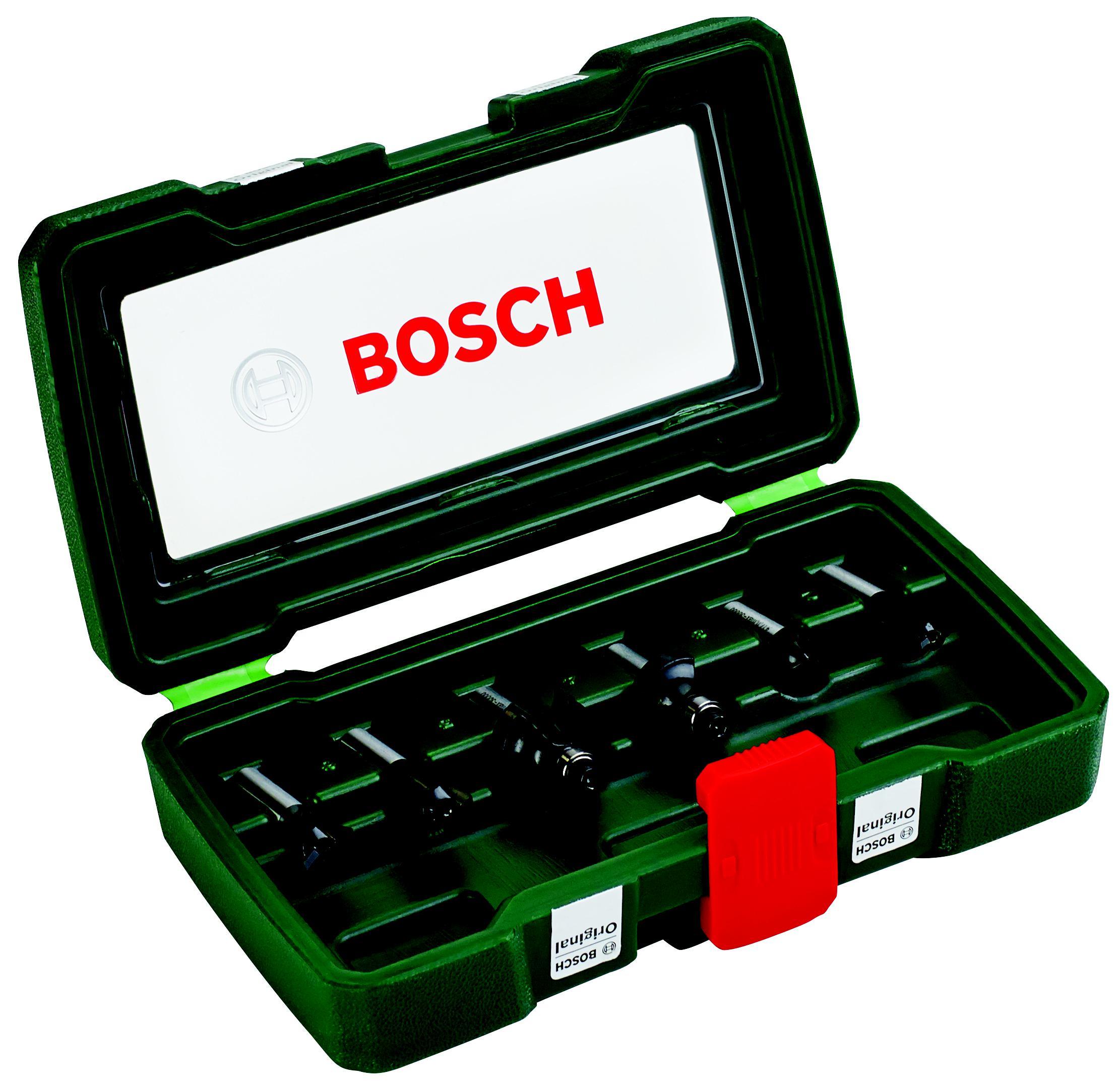 Купить Набор фрез Bosch 6шт., хвостовик 8мм (2.607.019.463), Германия