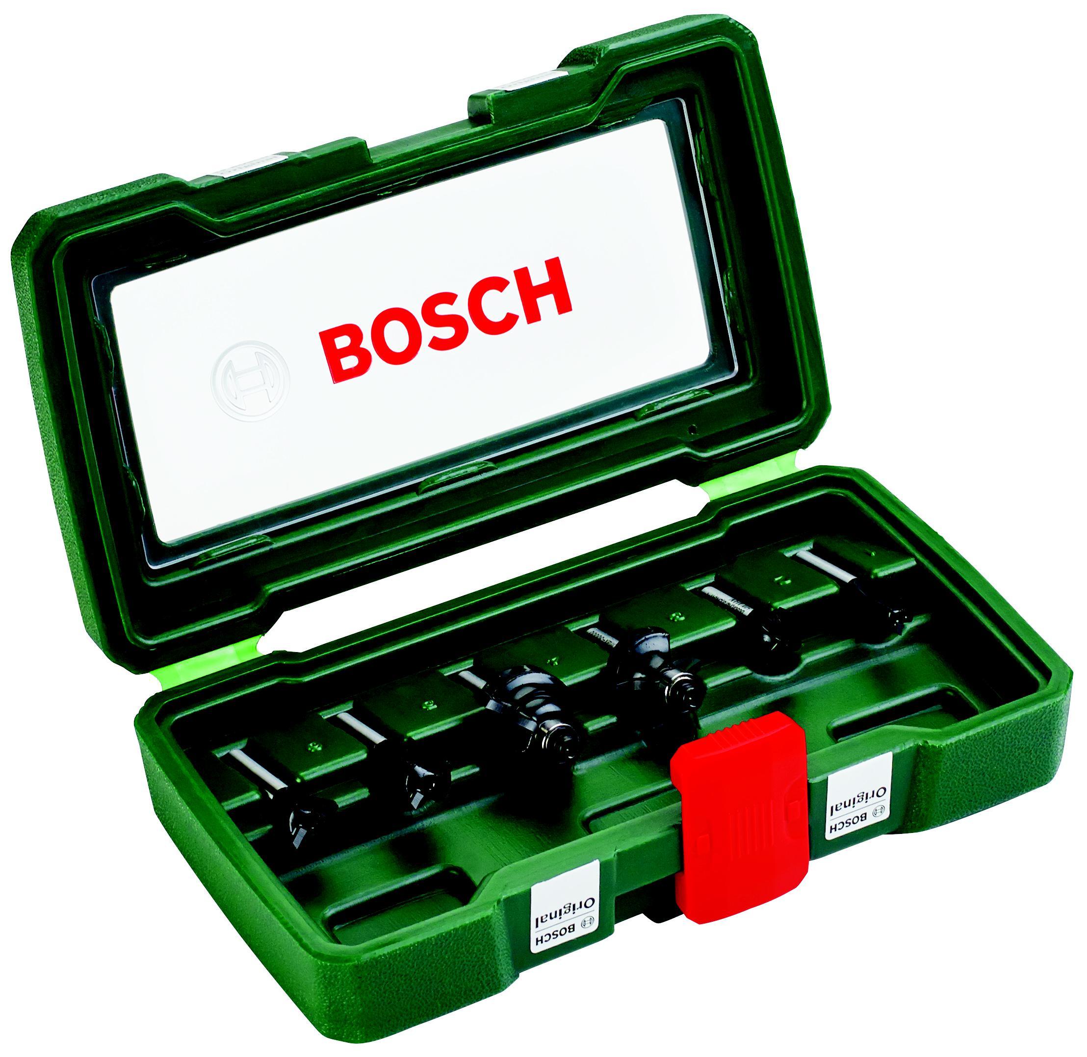 Набор фрез Bosch 6шт., хвостовик 6мм (2.607.019.464) набор фрез metabo 6шт