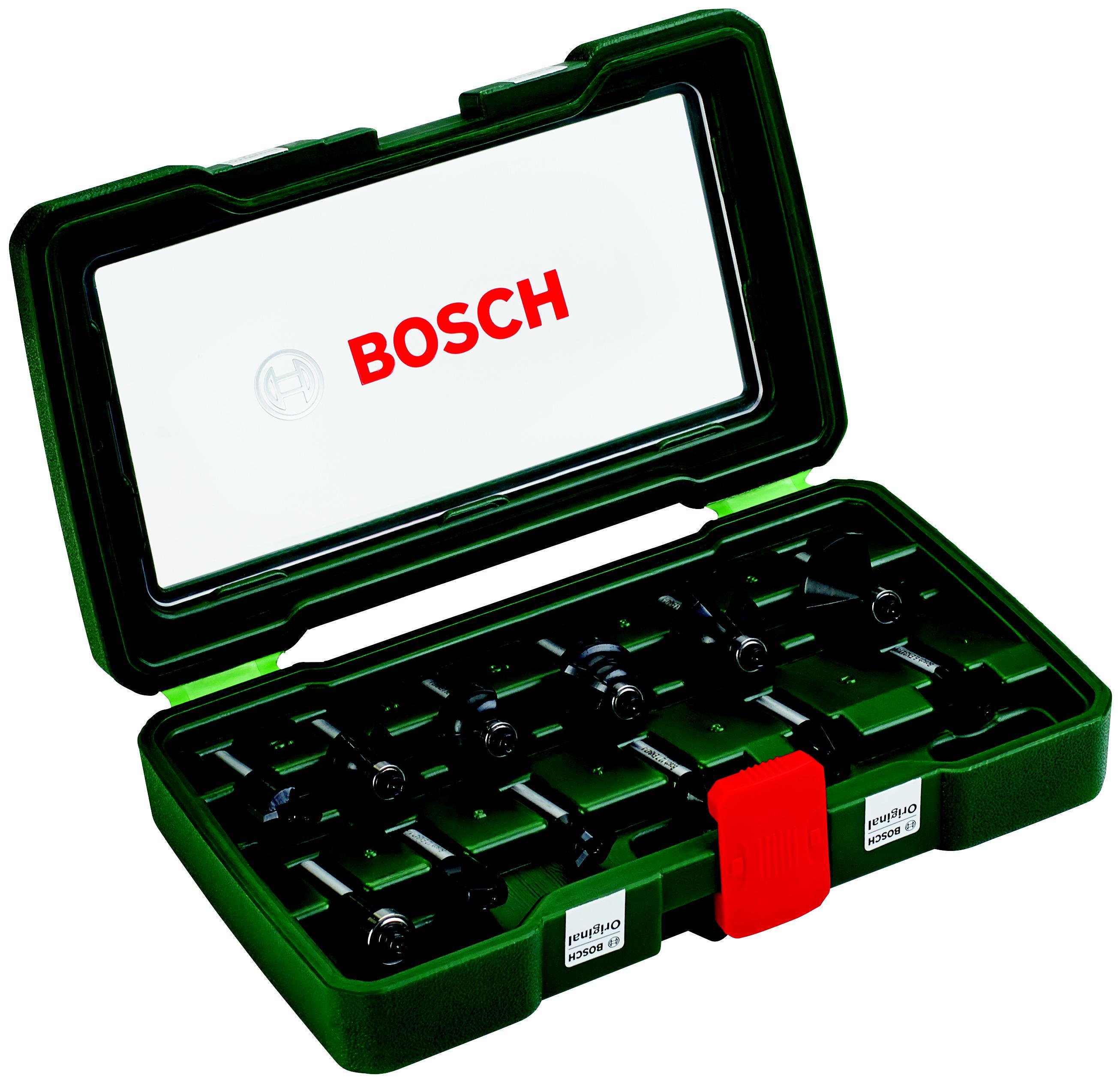 Набор фрез Bosch 12шт., хвостовик 8мм (2.607.019.466)