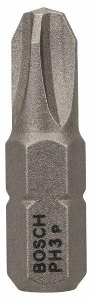 Бита Bosch Extra-hart ph3 25 мм, 1 шт. (2 607 001 516) набор бит bosch ph pz tx sl 12шт extra hart 2 608 255 994