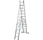 Лестница алюминиевая складная KRAUSE STABILO 2х9